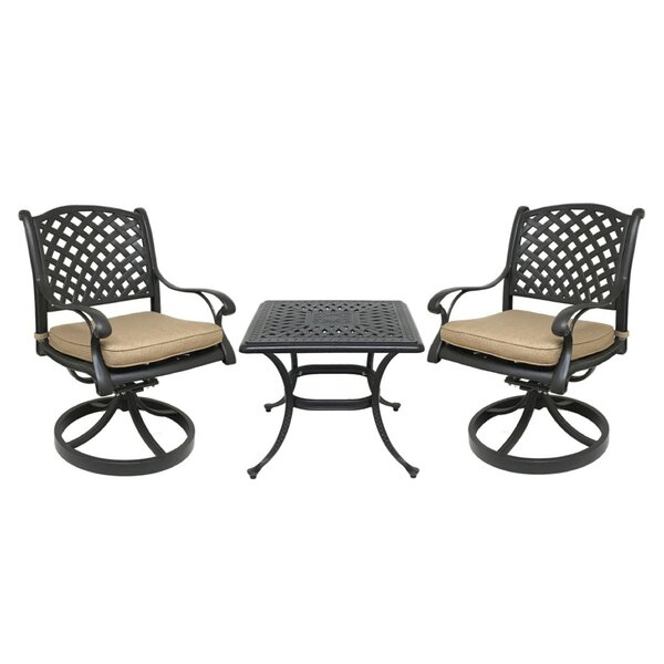 Beadle Bistro Set with Cushions by Darby Home Co