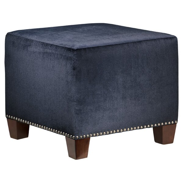 Arthur Cube Ottoman by Skyline Furniture