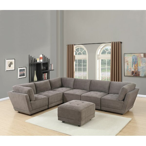 Mckenny Modular Sectional with Ottoman by Latitude Run
