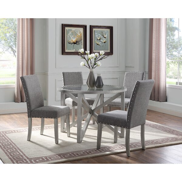 Lamoureux 5 Piece Dining Set by House of Hampton