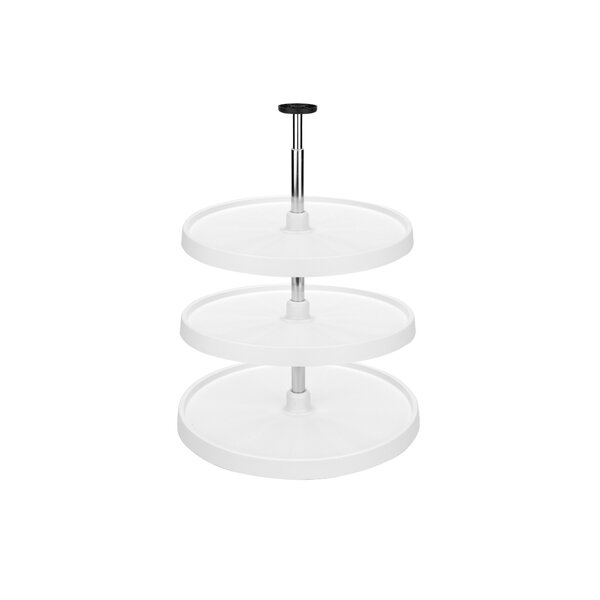 Polymer Full Circle 3 Shelf Lazy Susan by Rev-A-Shelf