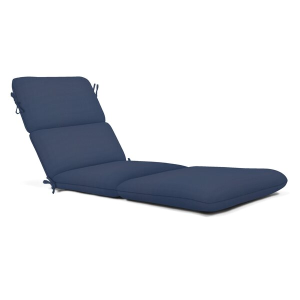Indoor/Outdoor Sunbrella Chaise Lounge Cushion by Winston Porter