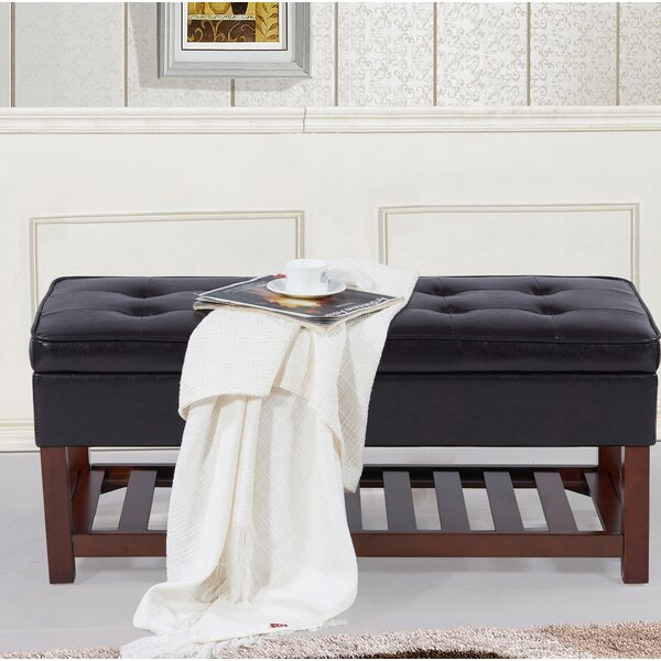 Ketter Upholstered Storage Bench by Alcott Hill