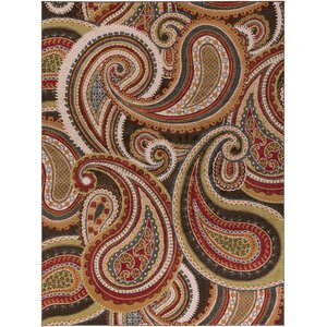 Mya Red Area Rug