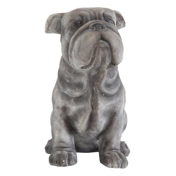 Bilski Garden Magnesia Bulldog Figurine by Three Posts