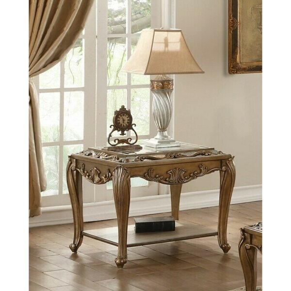 Suttle Wooden End Table By Astoria Grand Sale