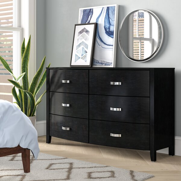 Laurelwood 6 Drawer Double Dresser by Latitude Run