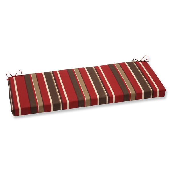 Monserrat Indoor/Outdoor Bench Cushion by Pillow Perfect