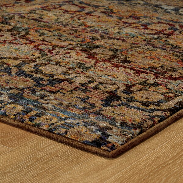 Rosalia Traditional Blue Area Rug by Bloomsbury Market