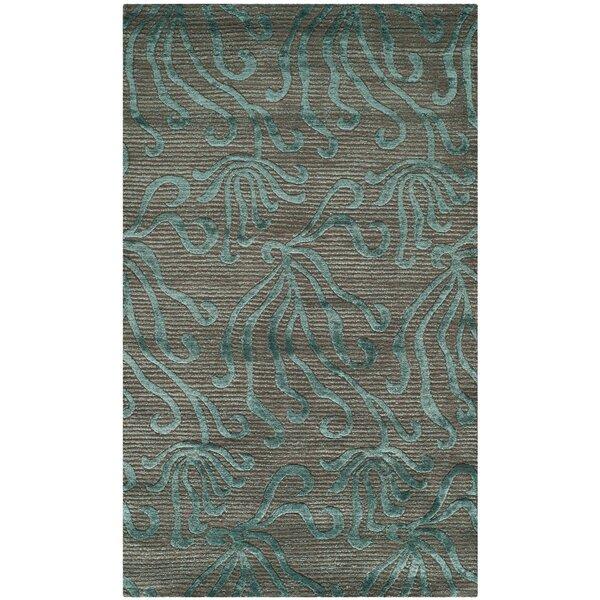 Seaflora Hand-Tufted Blue/Gray Area Rug by Martha Stewart Rugs