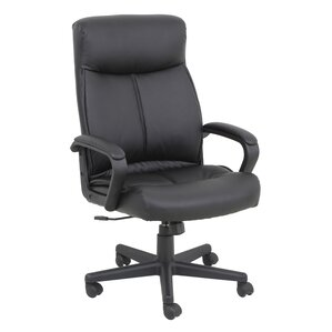 genuine leather office chairs you'll love | wayfair