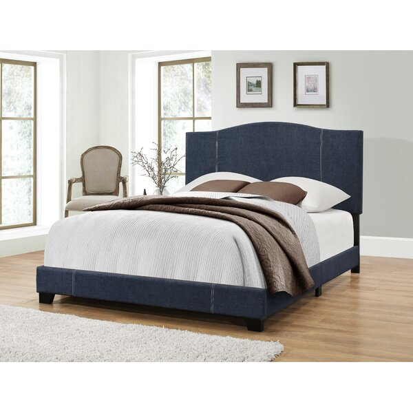 Nauvoo Upholstered Standard Bed by Andover Mills
