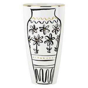 Daisy Place Chinoiserie Doodle Vase