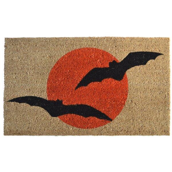 Molded Bats Doormat by Imports Decor