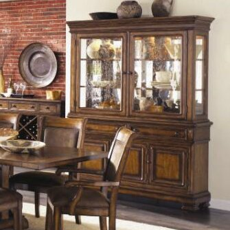 Rangel Wood China Cabinet By Darby Home Co Herry Up