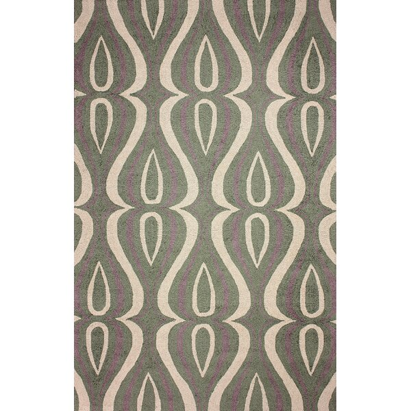 Uzbek Green Luciano Rug by nuLOOM