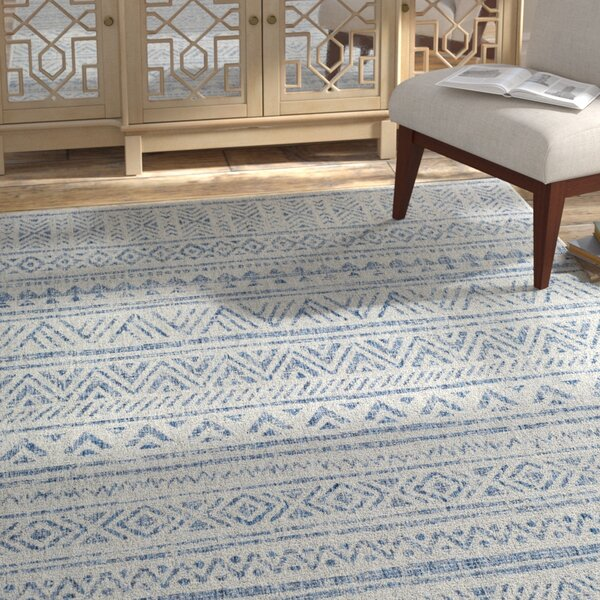 Tomas Global Denim/Dark Blue Indoor/Outdoor Area Rug by Mistana