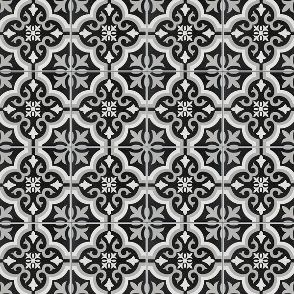 Lima 7.75 x 7.75 Ceramic Field Tile in Black/Gray by EliteTile