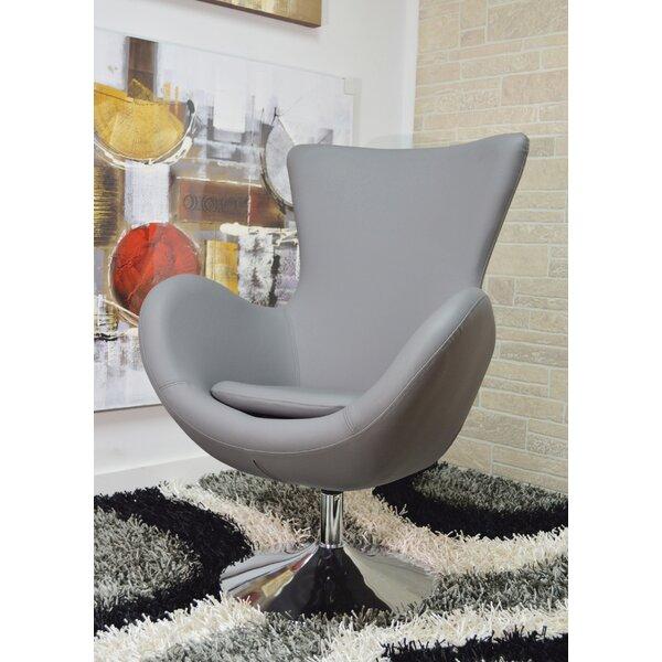 Matina Swivel Lounge Chair by Orren Ellis