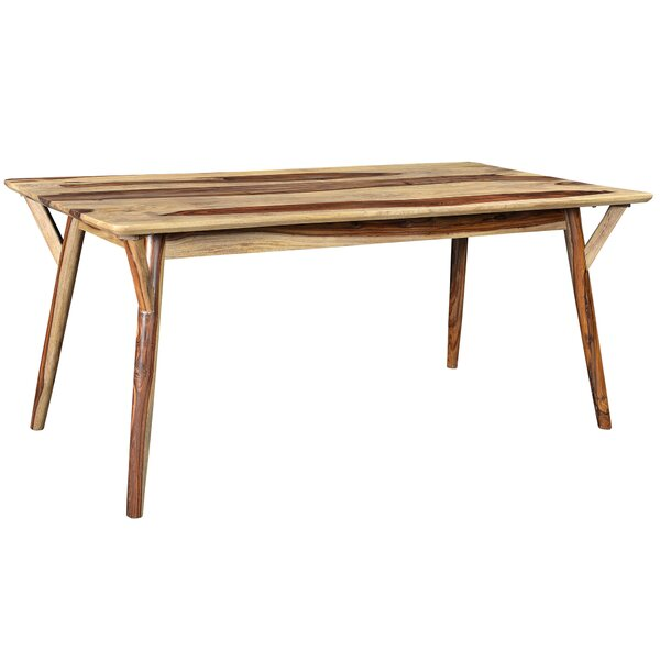 Neace Solid Wood Dining Table by Brayden Studio Brayden Studio
