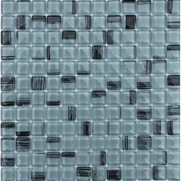 Los Osos 1 x 1 Glass Mosaic Tile by Parvatile
