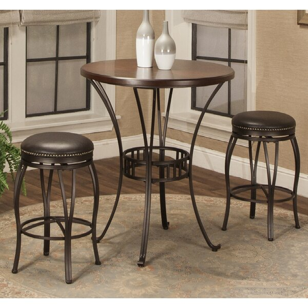 Orleans 3 Piece Pub Table Set by Red Barrel Studio