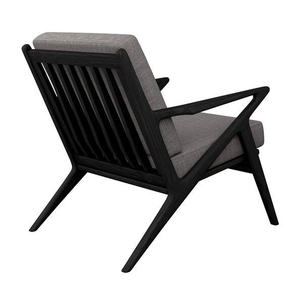 Buehler Linen Weave Lounge Chair By Corrigan Studio