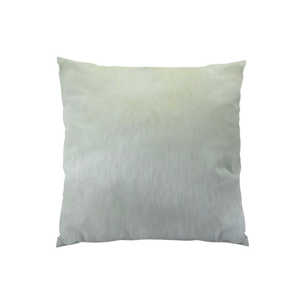 Arctic Fox Handmade Throw Pillow by Plutus Brands