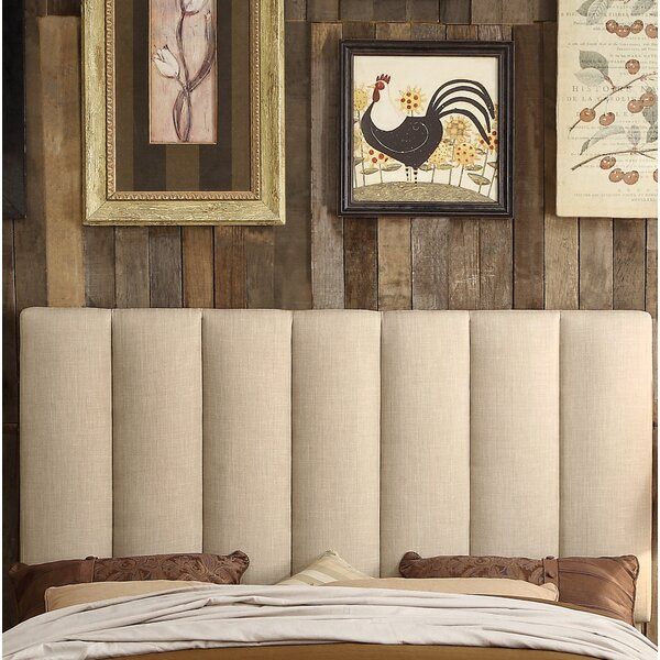 Mcmaster Queen Upholstered Panel Headboard by Ivy Bronx Ivy Bronx