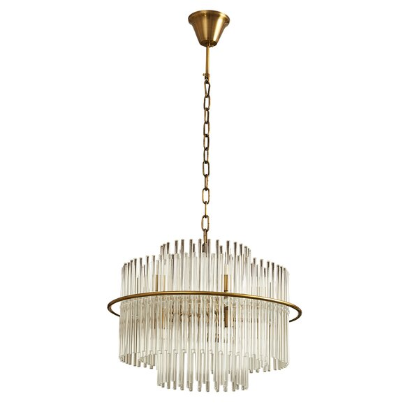 Groner 6 - Light Unique Tiered Chandelier by House of Hampton House of Hampton