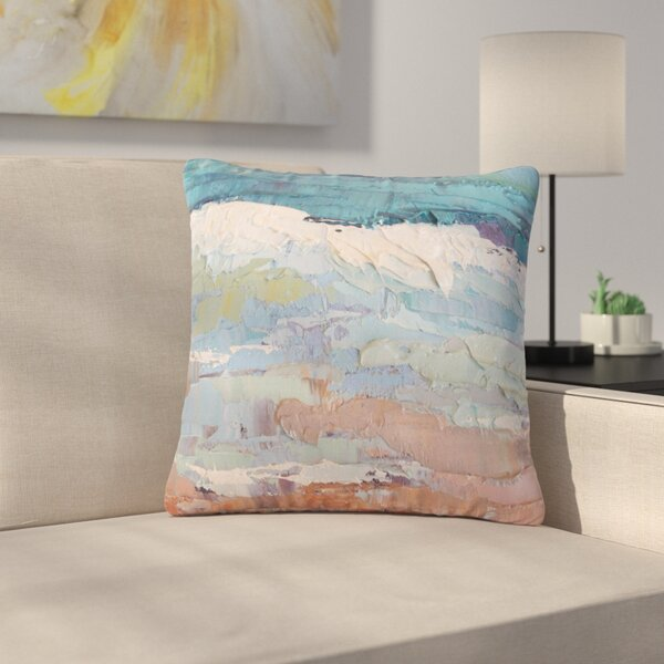 Carol Schiff Surf Dreams Painting Outdoor Throw Pillow by East Urban Home