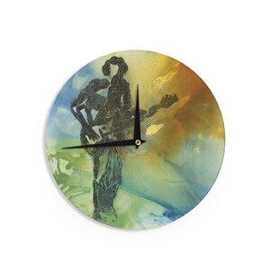 Josh Serafin 'Rhythm' 12 Wall Clock by East Urban Home