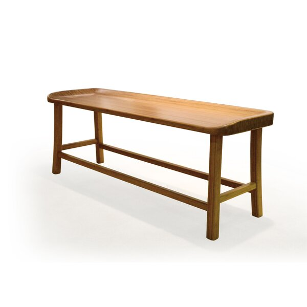 Tulip Bamboo Bench by Greenington
