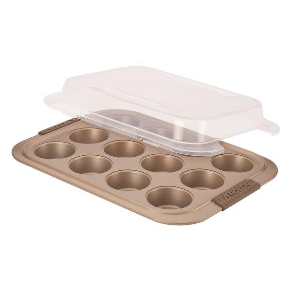 Advanced Bronze Non-Stick Muffin Pan by Anolon