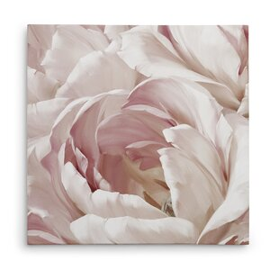'Intimate Blush Il' Oil Painting Print on Wrapped Canvas by House of Hampton