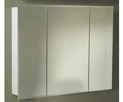 Uriel Tri-View 48 x 28.25 Surface Mount Medicine Cabinet