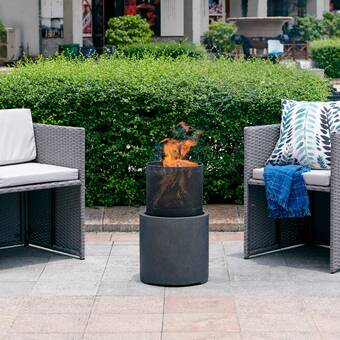 Latitude Run Anjay 58 X36 X 24 Rectangle Fire Pit Table Wayfair Ca