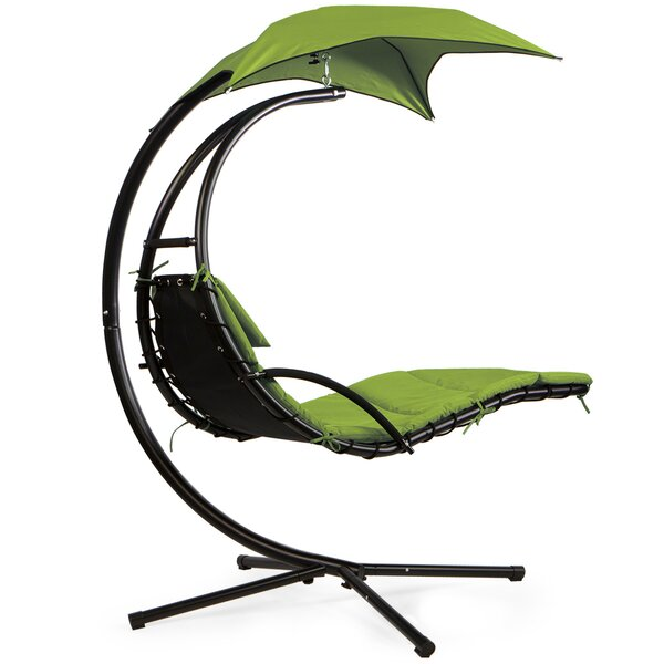 Hanging Chaise Lounger with Stand by Barton Barton