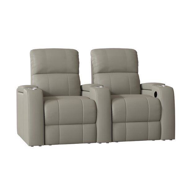 Large Home Theater Curved Row Seating (Row Of 2) By Latitude Run