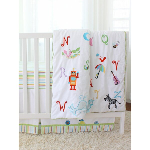 Alphabet Adventure Quilt by The Little Acorn