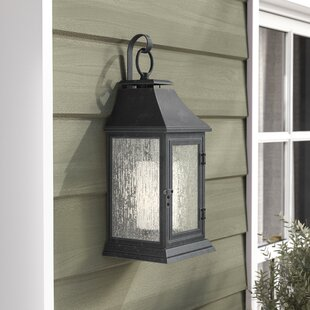 Searching for Hague 1-Light Outdoor Wall Lantern By Darby Home Co