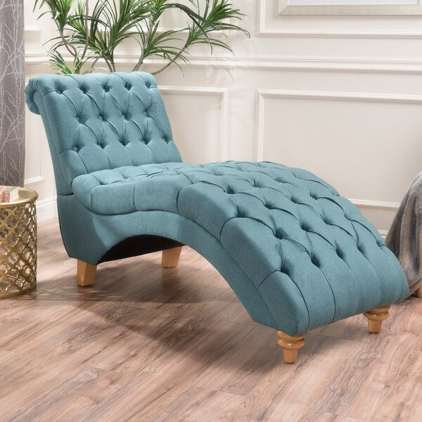 Don Fabric Chaise Lounge by Mistana