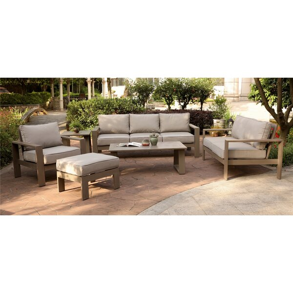 Otega 6 Piece Sofa Seating Group with Cushions by Orren Ellis