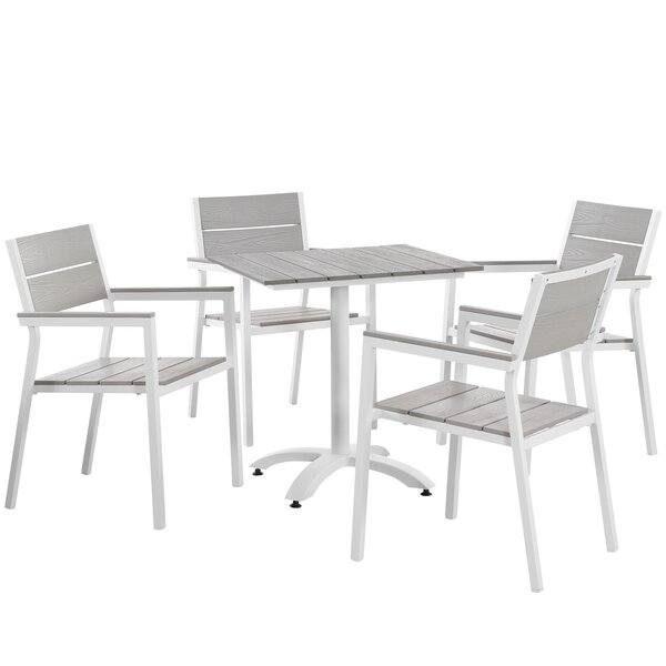 Windsor 5 Piece Dining Set by Sol 72 Outdoor