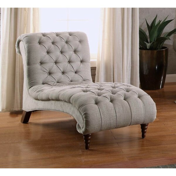 Kyla Tufted Chaise Lounge by Rosdorf Park