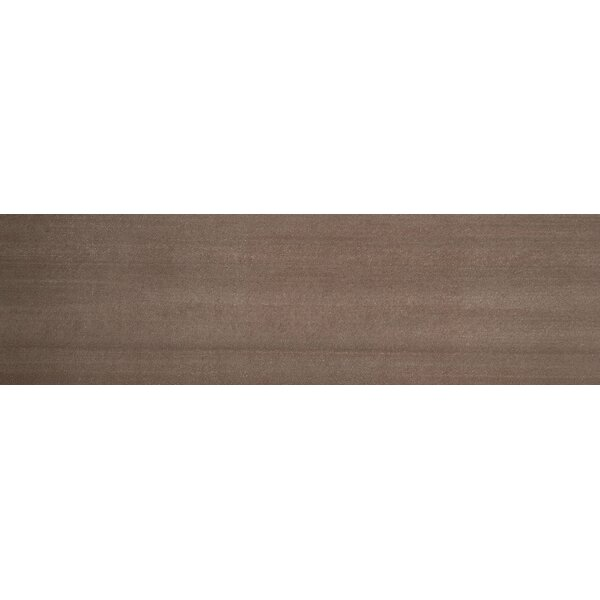 Perspective 6 x 24 Porcelain Fabric Look/Field Tile in Brown by Emser Tile
