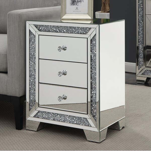 Marlow End Table with Storage by Everly Quinn Everly Quinn