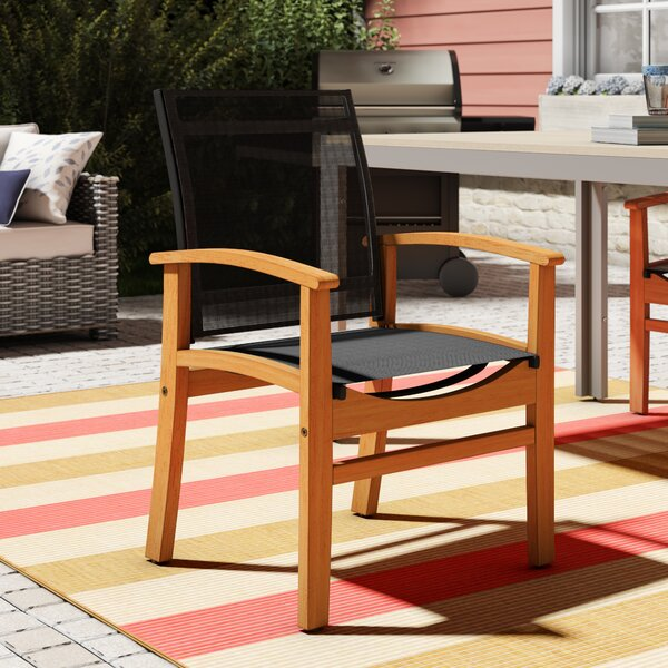 Hillsford Teak Patio Dining Chair by Beachcrest Home