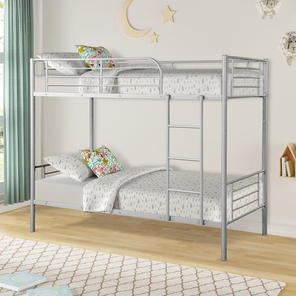 Kendall Twin over Twin Bunk Bed by Harriet Bee