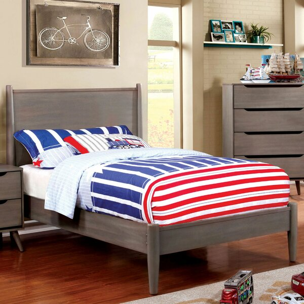 Mccormack Wooden Twin Panel Bed by Isabelle & Max